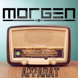 Albumcover Apparat des Musikduos MORGEN
